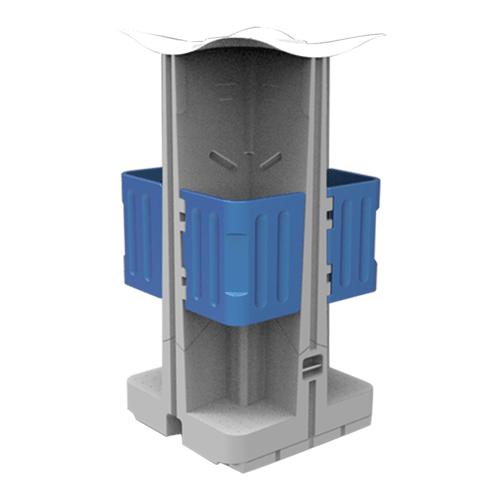 Four Station Urinal
